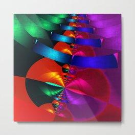a fractal colormix Metal Print