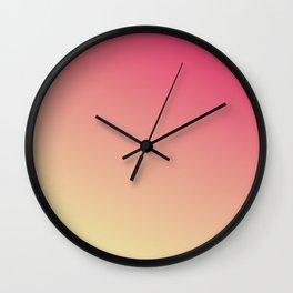Nectarine 2.0 Gradient Wall Clock