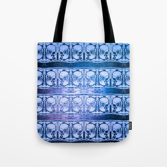 Ice Sword Skulls Tote Bag