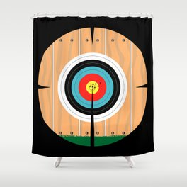 On Target Shower Curtain