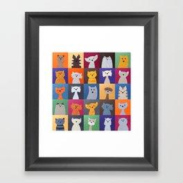 The Cats Nap Framed Art Print