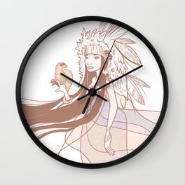 frett Wall Clock