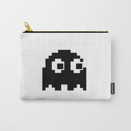 Blacky Ghost Invader Carry-All Pouch