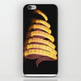 La Campanella by Franz List, illustration iPhone Skin