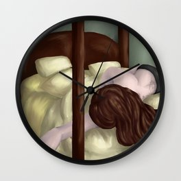 A Lazy Day Wall Clock