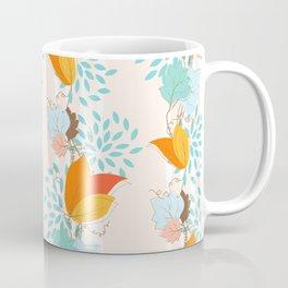Ivy Floral Pattern Coffee Mug