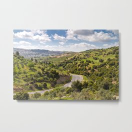 Greenscape Amman Metal Print