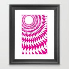rave up Framed Art Print