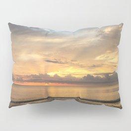 Daintree rainforest Oceanside sunrise Pillow Sham