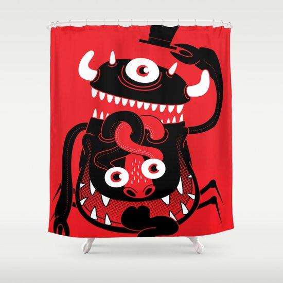 Mister Monster Shower Curtain