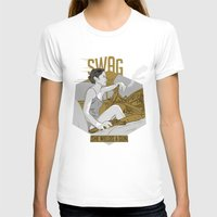 swag T-shirts featuring SWAG by RJ Artworks