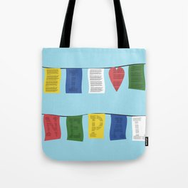 I heart Nepal Tote Bag