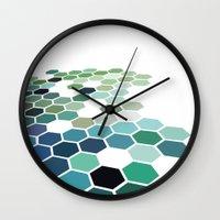 colorado Wall Clocks featuring Colorado by Bakmann Art
