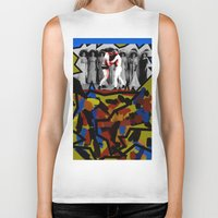 boys Biker Tanks featuring Boys Will Be Boys by AF Knott
