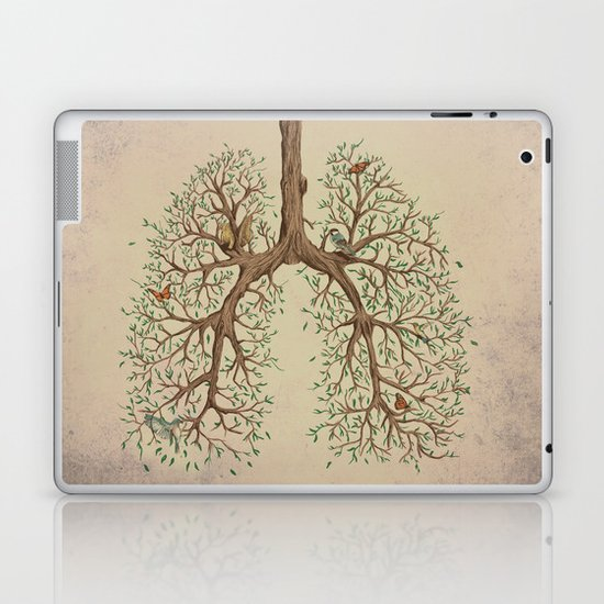 Breathe! Laptop & iPad Skin