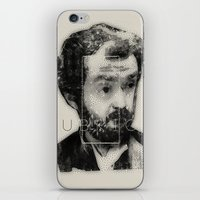 stanley kubrick iPhone & iPod Skins featuring kubrick by Levvvel