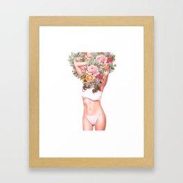 Hypefleur Framed Art Print