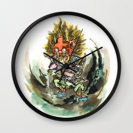 Shuten Do-Ji Wall Clock