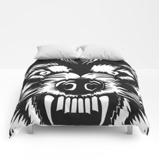 big bad wolf II Comforters