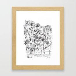 Marjan Hill in Split Framed Art Print