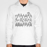 theater Hoodies featuring Mystery Theater 3K by Captain_RibMan