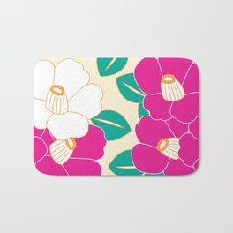 Shades of Tsubaki - Pink & White Bath Mat