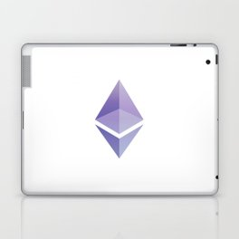 Ethereum ETH Blue Purple Logo Design Laptop & iPad Skin