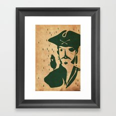 Pirate day - Emilie Record Framed Art Print