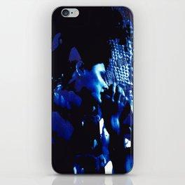 Blue Marina in Bloom iPhone Skin