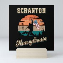 Scranton Pennsylvania Mini Art Print
