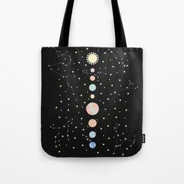 For You - Solar System Illustration Tote Bag