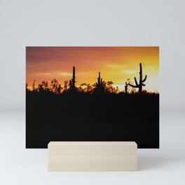 Arizona Sunset Mini Art Print