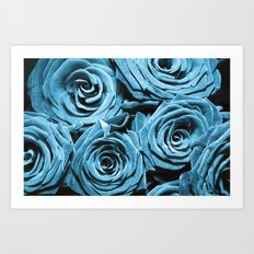 Denim Art Print