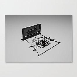 band camera Canvas Print