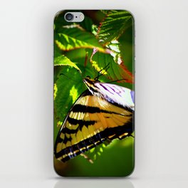 Butterfly- close and personal iPhone Skin