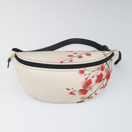 Oriental plum blossom in spring 009 Fanny Pack