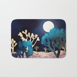 Desert Lake Moonlight Bath Mat