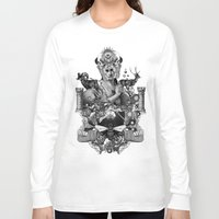 pagan Long Sleeve T-shirts featuring PAGAN WICCAN II by DIVIDUS DESIGN STUDIO