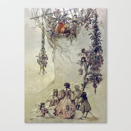 """""""The Fairies Ascent"""" by A. Duncan Carse Canvas Print"""