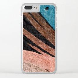 Dark Grace [2]: an abstract watercolor by Alyssa Hamilton Art Clear iPhone Case