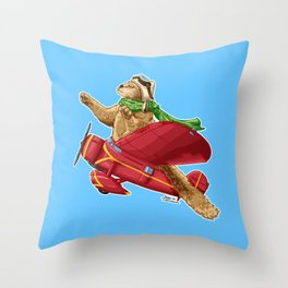 Amelia Kittenhart Throw Pillow