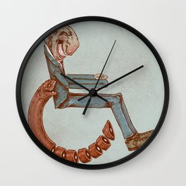 Wheelchair Wall Clock