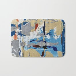 Miniature Original  - blue Bath Mat