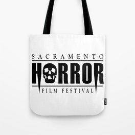 Sacramento Horror Film Festival Black Logo Tote Bag