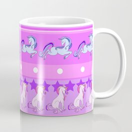 Unicorn Repeating Pattern Coffee Mug