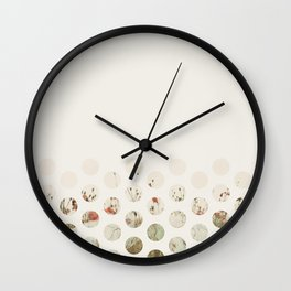 Flowerly Wall Clock