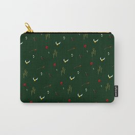 Quidditch Pattern - Slytherin Carry-All Pouch