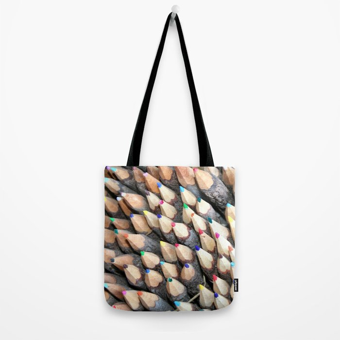 Wish you a colorful day Tote Bag