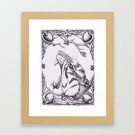 Ink Tiger Framed Art Print