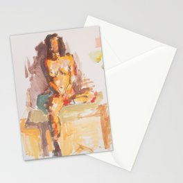 The drawing circus Stationery Cards